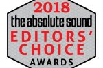 Absolute Sound Editors Choice 2018