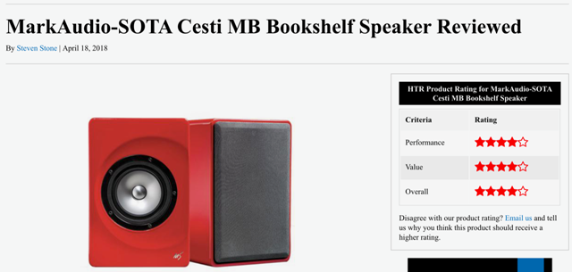 Home Theatre Review of Cesti MB
